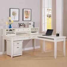 White L Shaped Desks L Shaped Desk With Hutch Ikea Varidesk Starting At 175 00