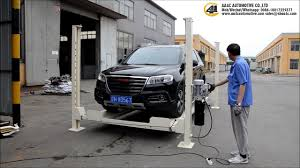 aa4c aa 4p40mp movable 4 post lift for car parking youtube