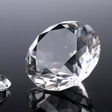 online shop 60mm 9pcs lot crystal diamond paperweight crafts