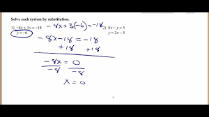 system of equations substitution worksheet free worksheets library