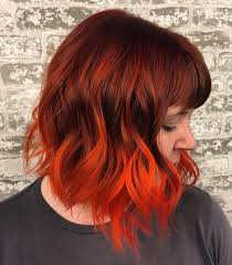 medium length hairstyles with color 60 auburn hair colors to emphasize your individuality