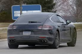 porsche panamera modified 2017 porsche panamera first interior spy shots gtspirit