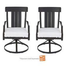 hampton bay metal patio furniture black outdoor dining