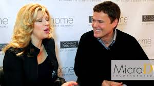donny osmond home decor furniture today meets up with donny and debbie osmond at las vegas