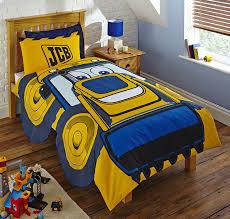Postman Pat Duvet Set New Jcb Builder Truck Design Single Duvet Quilt Cover Set Boys