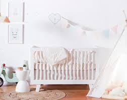 Gold Crib Bedding Sets Modern Crib Bedding Etsy