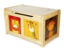 tidlo wooden natural jungle design toy box wood storage bedroom