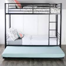 trundle bed black friday black steel roll out twin trundle frame free shipping today