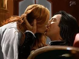 ...věnovala mu něžný polibek