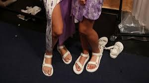 the normcore shoe trend of australian fashion week grazia australia