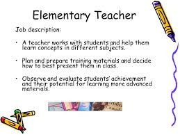 Substitute Teacher Resume Job Description Model Teacher Job Requirements 2016 17teacher Job Description
