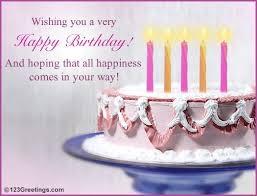birthday card birthday wish cards free simple say free