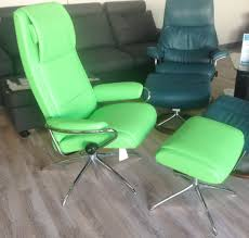 stressless paloma summer green leather by ekornes stressless