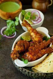 Broil Chicken Legs by Tangdi Kebab Oven Baked Tandoori Chicken Legs