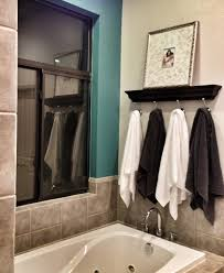 bathroom accents ideas turquoise bathroom accent wall ledge from pottery barn