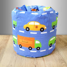 children u0027s bean bag traffic express boys cars kids bedroom