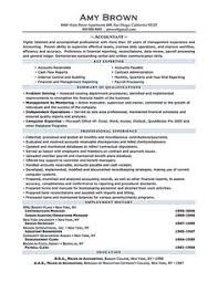 Example For A Resume by Accounting Cover Letter Example Cover Letter Example Letter