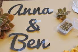 diy wedding signs diy string wedding sign ruffled