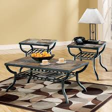 Slate Top Coffee Table Beautiful Slate Coffee Table Set 38 About Remodel Elegant Design