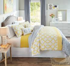 Best  Yellow And Gray Bedding Ideas On Pinterest Grey Chevron - Grey and yellow bedroom designs