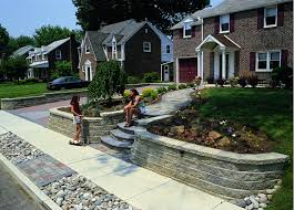 Front Yard Retaining Walls Landscaping Ideas - garden design garden design with front yard landscaping ideas