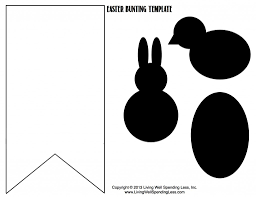easter bunting templates u2013 happy easter 2017