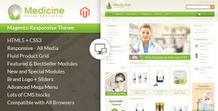medicine responsive magento theme by templatemela themeforest