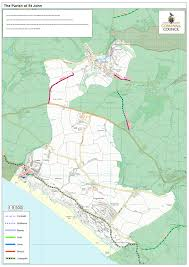 Local Map Local Maps U2013 St John Parish Council And Village U2013 Rame Cornwall