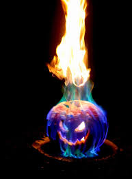 flamethrower pumpkin flaming halloween jack lantern