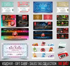 tickets gift card big collection of voucher gift card layout templates for your