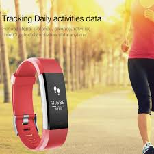 wrist bracelet monitor images Id115 hr plus smart wristband bracelet support heart rate monitor jpg