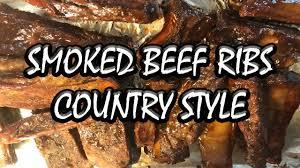 smoked beef ribs on masterbuilt smoker bummers bar b q