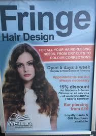 senior hair cut discounts fringe hair design home facebook