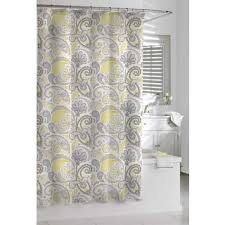 Grey And Yellow Shower Curtains Captivating Grey And Yellow Shower Curtain Images Best