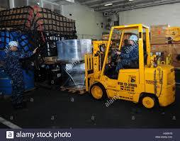 Forklift Mechanic Aviation Support Equipment Technician Stock Photos U0026 Aviation