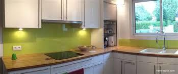 credence cuisine verre carrelage credence cuisine design mineral bio