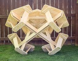 sweet inspiration octagon picnic table stylish design treated pine