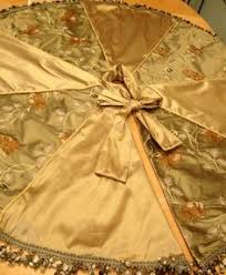 gold tree skirt silk christmas tree skirt and gold tree skirts christmas