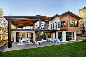 two story home designs contemporary two storey home in portland best home designs