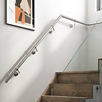 chrome banister rails stairs stair parts building supplies departments diy at b q