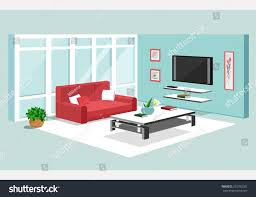 3d isometric design apartment modern graphic stock vector