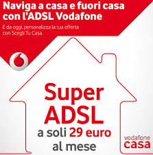 vodafone casa marketing 2016 abbonamento adsl vodafone