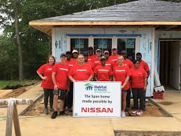 nissan titan jackson ms nissan supports revitalization of greenview drive in mississippi