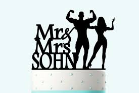 sports cake toppers acrylic wedding cake toppers sports groom custom name
