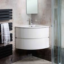the most witching bathroom corner vanity unit basin using semi