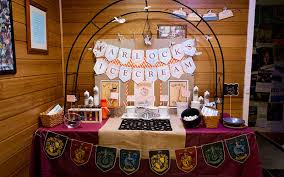 Harry Potter Decorations For Birthday Party