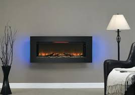 electric wall mount fireplace canadian tire flat panel heater
