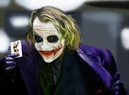 the joker heath ledger from the dark knight by kartjeeva on