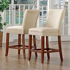 homepop blue and brown paisley parson chairs set of 2 mahogany