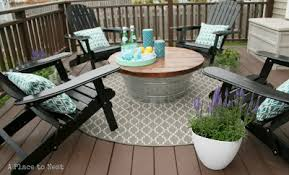 Patio Coffee Tables Outdoor Coffee Table With Metal Base